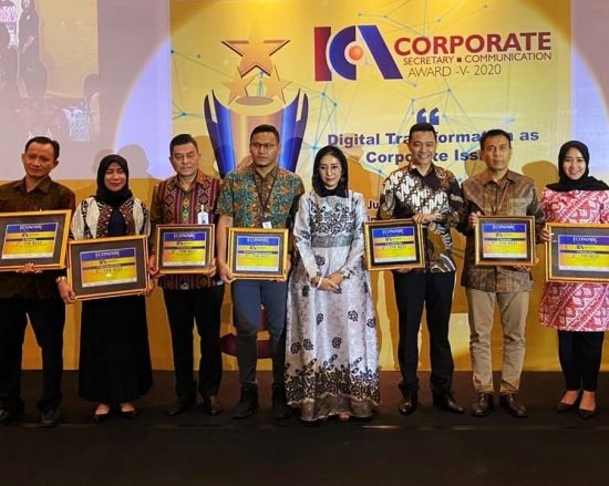 Bank Kalsel Raih penghargaan The 3rd The Best Corporate Secretary and Corporate Communication Award V 2020