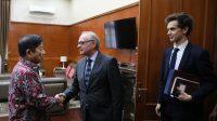 Kepala Bappenas Bahas Kerjasama Ekonomi Bersama Duta Besar Perancis