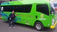 Tiga Larangan Saat Naik Bus Trans Banjarmasin