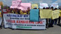 Warga 12 Kecamatan Tuntut Pemekaran Tanah Kambatang Lima