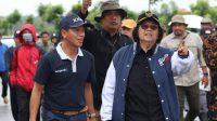 Menteri LHK Tinjau Kesiapan Hutan Pers dan Miniatur Hutan Hujan Indonesia Untuk Kunjungan RI 1