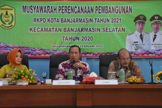 Pemerintah Kota Banjarmasin lakukan Musyawarah Rencana Pembangunan (Musrembang) di tingkat Kecamatan