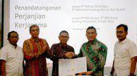Bank Kalsel Jalin Kerjasama Dengan PT Pelindo III dan PT Pelindo Daya Sejahtera