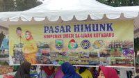 Dinas Pertanian dan Dinas Perdagangan, UKM Kotabaru Gelar Pasar Himunk