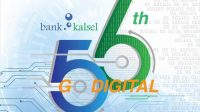 HUT ke 56, Bank Kalsel Angkat Tema 'Go Digital'