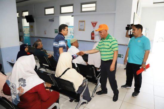 Pastikan Layanan Kesehatan Baik, Wahid Sidak ke RSUD Pambalah Batung