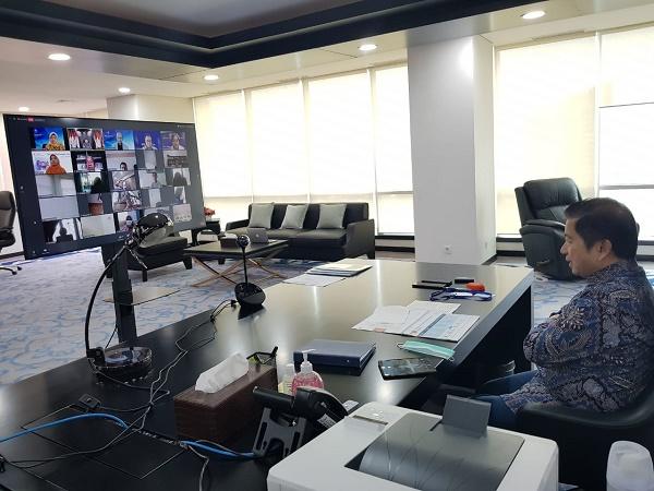 Menteri Suharso Sambut Baik Kajian IPB Soal Dampak Covid-19 Terhadap Ekonomi dan Pangan