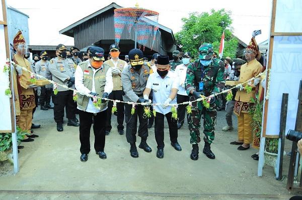GTPP Kalsel Resmikan KTB di Desa Banyu Hirang