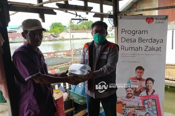 Rumah Zakat Bagikan 1.250 Benih Bibit Ikan