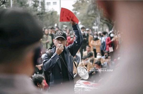 Massa Demo Menilai Kepemimpinan Jokowi-Ma'ruf Amin Mendapat Rapor Merah