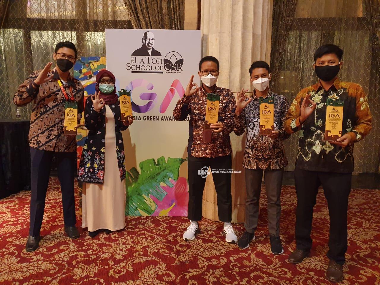 Pertamina IT Banjarmasin dan DPPU Syamsudin Noor Raih Empat Penghargaan Sekaligus di IGA 2021
