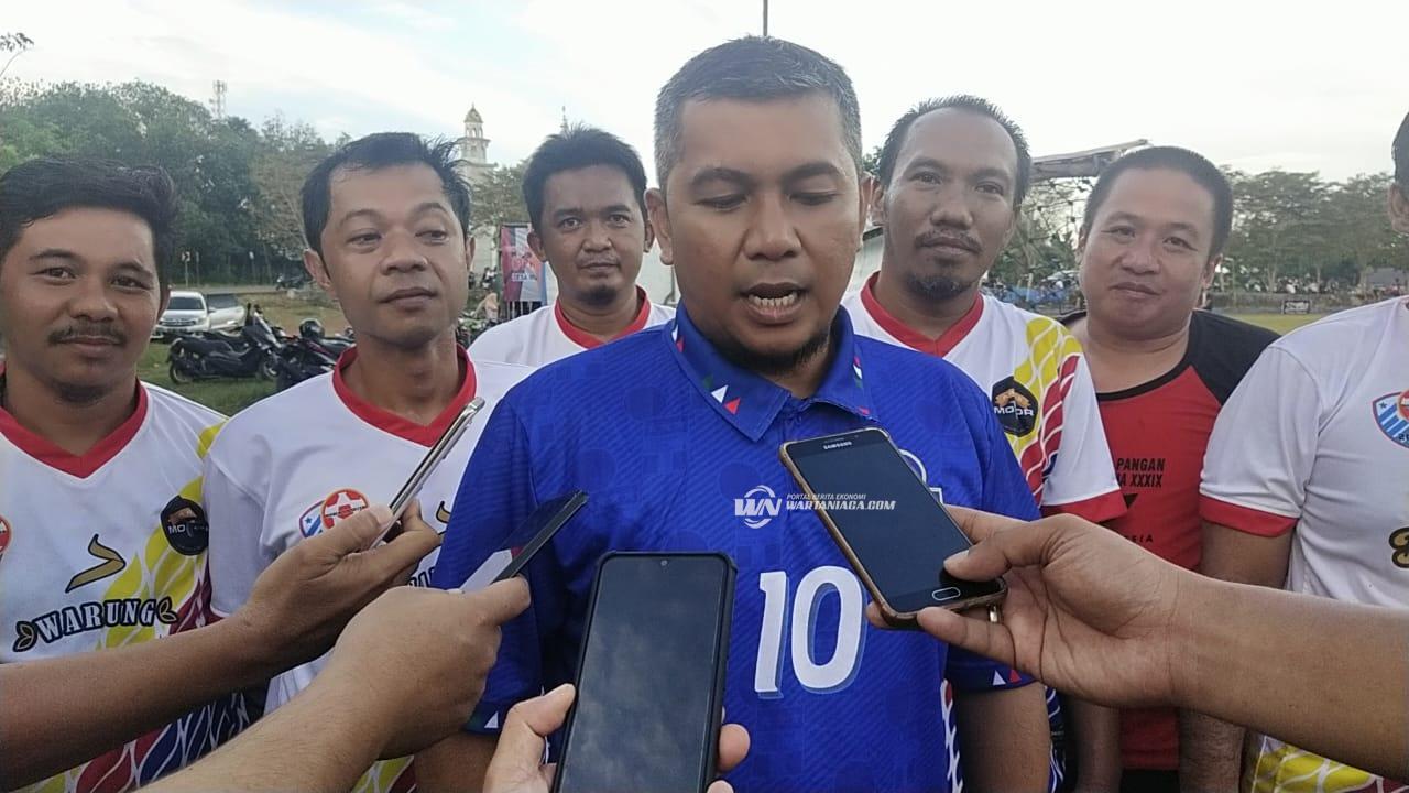 Paringin Old Soccer Meriahkan Pertandingan Laga Amal