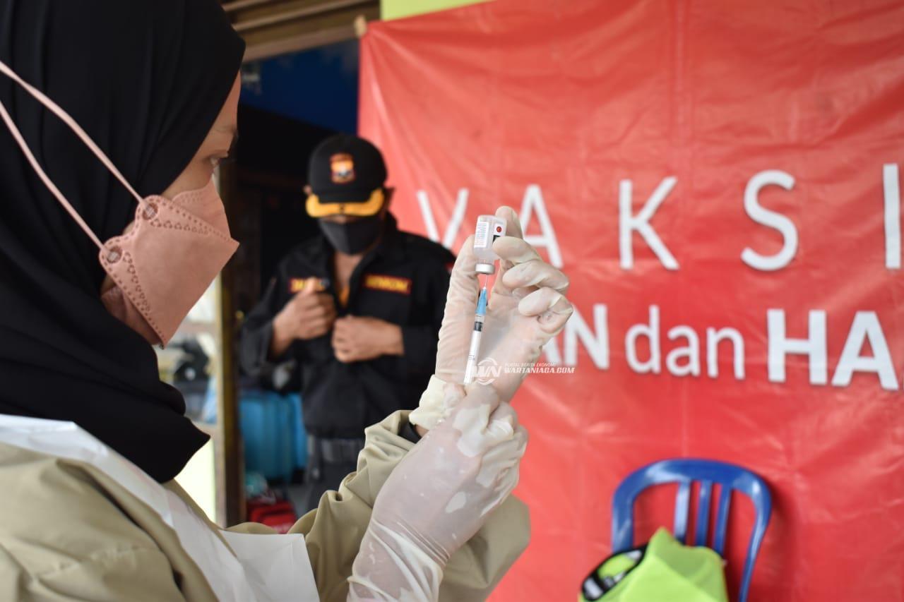 Puskesmas Panyipatan Targetkan 30 Orang di Vaksin Covid-19 Dalam Sehari