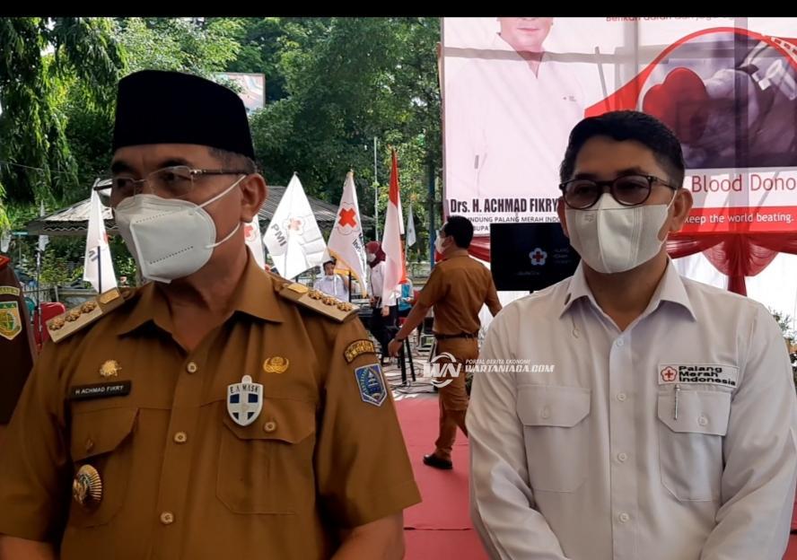 Momentum World Blood Donor Day, PMI HSS Launching Aplikasi Si Berkah