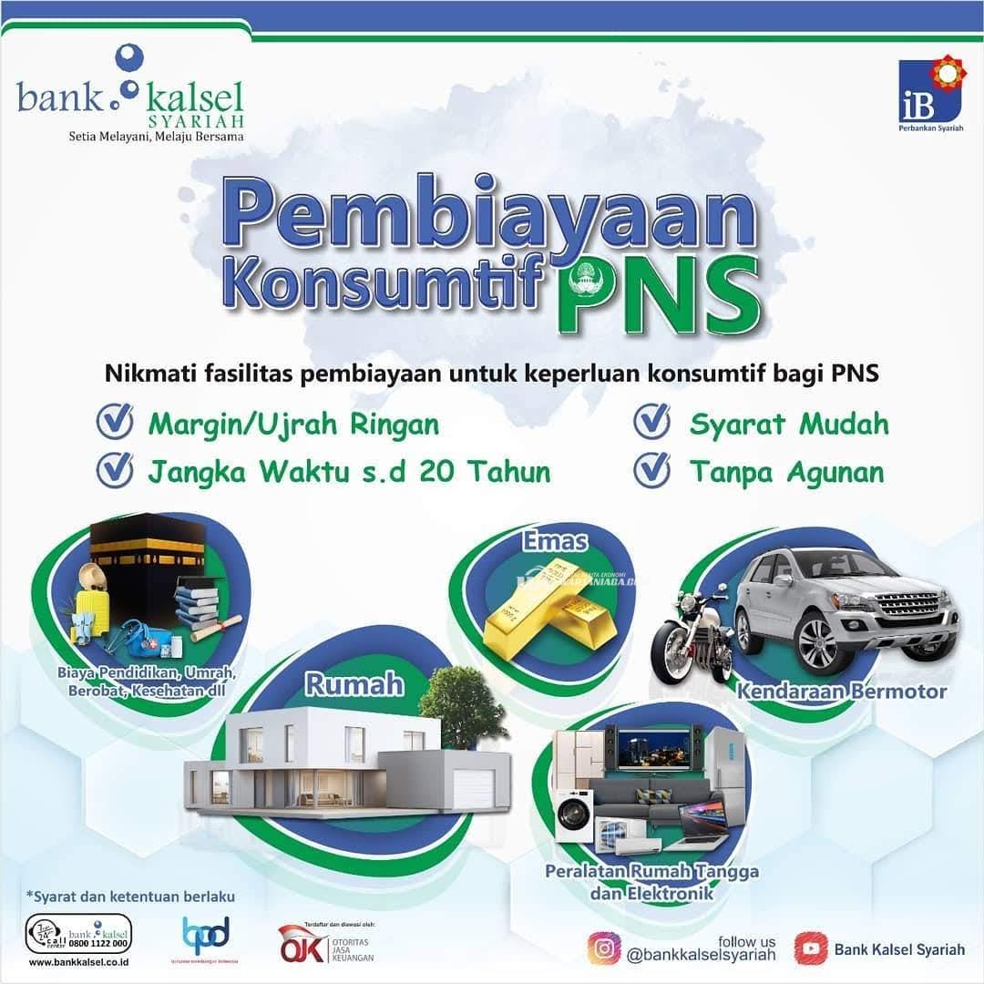 Pembiayaan Kebutuhan Hidup Mudah dan Aman, Bank Kalsel Siap Memfasilitasi Khusus PNS