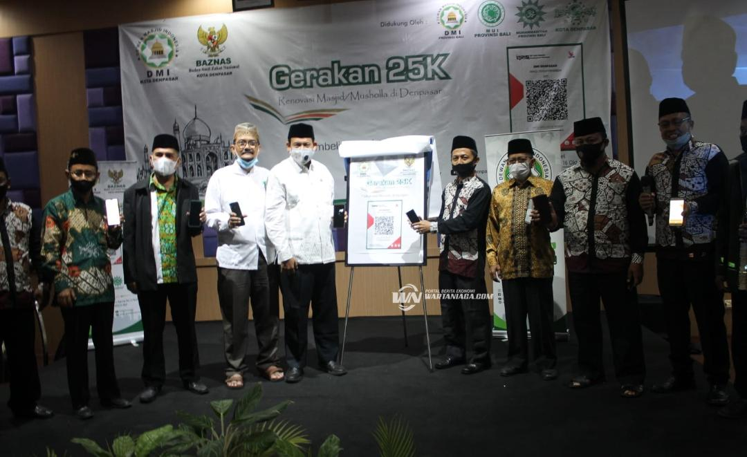 Gerakan 25K untuk Renovasi Masjid dan Musholla se-Denpasar