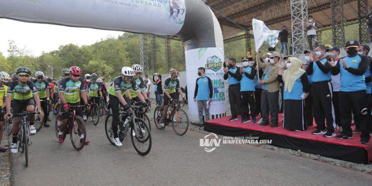 Tour de Loksado 2021 Promosi Pariwisata Kalsel Hingga Internasional