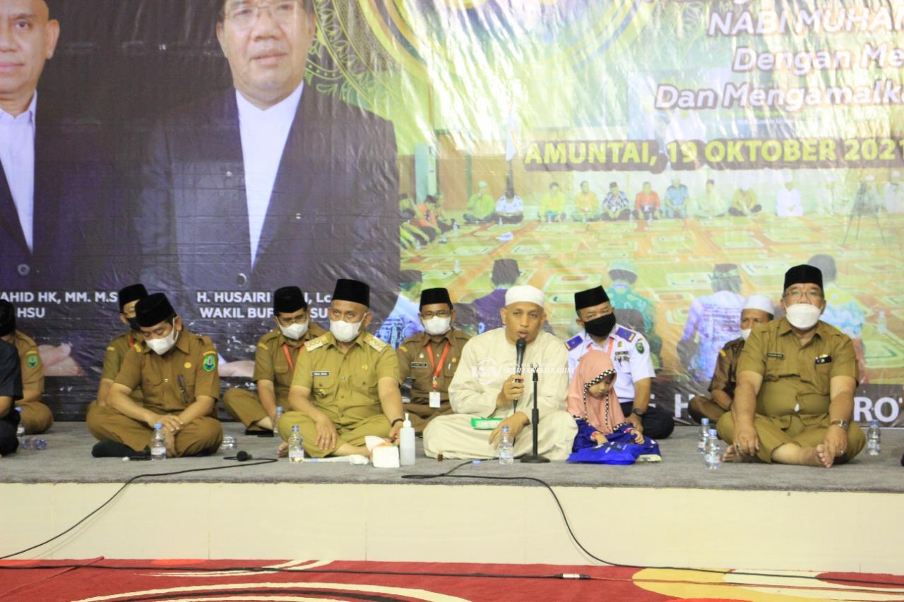 Pemkab HSU Gelar Maulid Nabi Besar Muhammad SAW