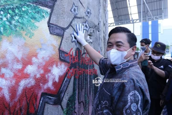 Banjar Mural Festival Ditutup